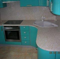 Кухонная столешница и фартук из натурального камня: Гранит Сансет Голд.jpg
