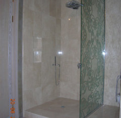 Облицовка ванной комнаты мрамор Крема Нова.jpg