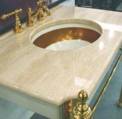 Столешница для ванной из натурального камня: Мрамор Дайна Реале.jpg