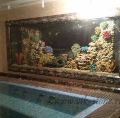 Рамка аквариума из мрамора Имперадор Дарк.jpg